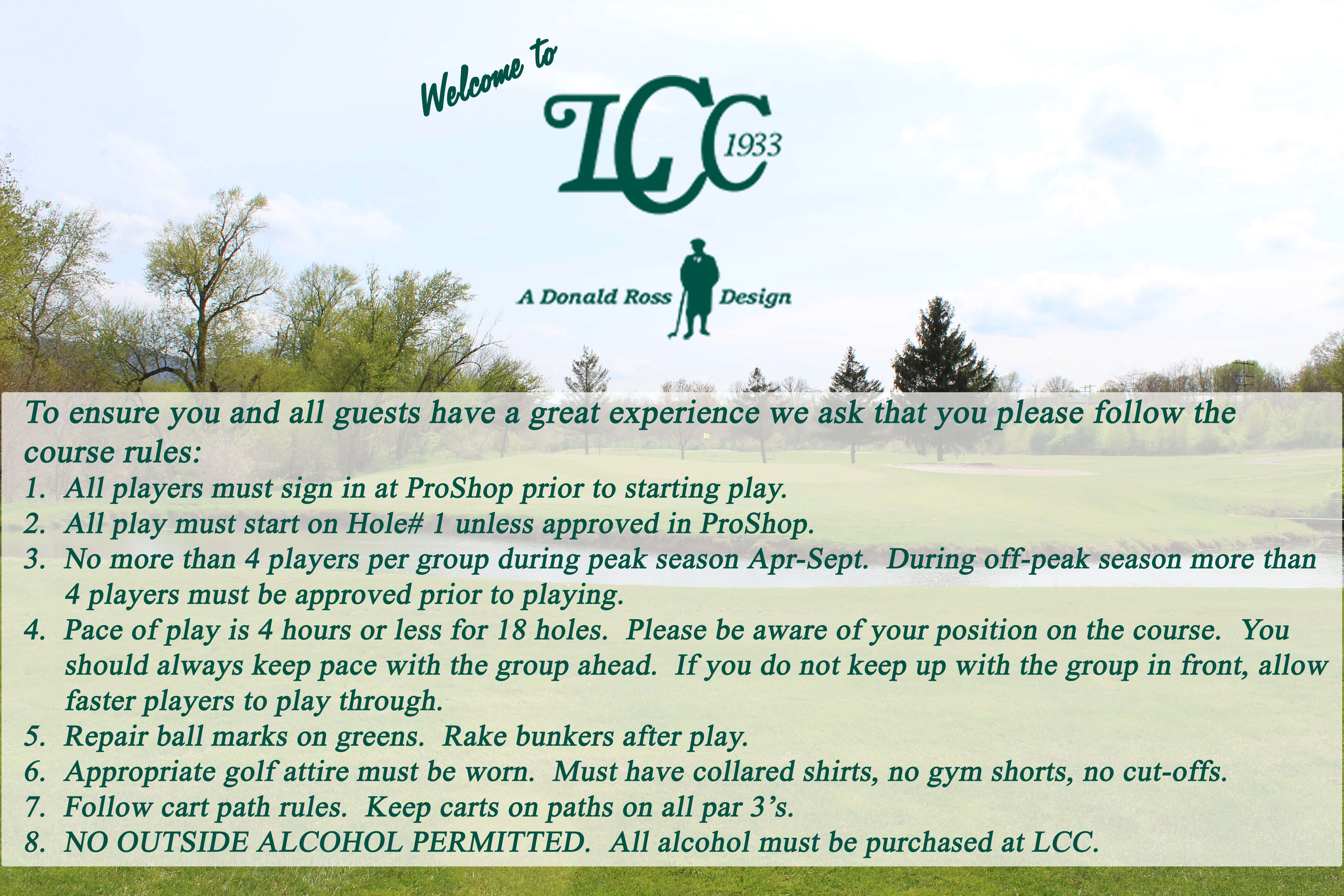 LCC Course Rules copy